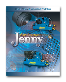 Download Jenny Hand Carry and Wheeled Portable Air Compressor Literature